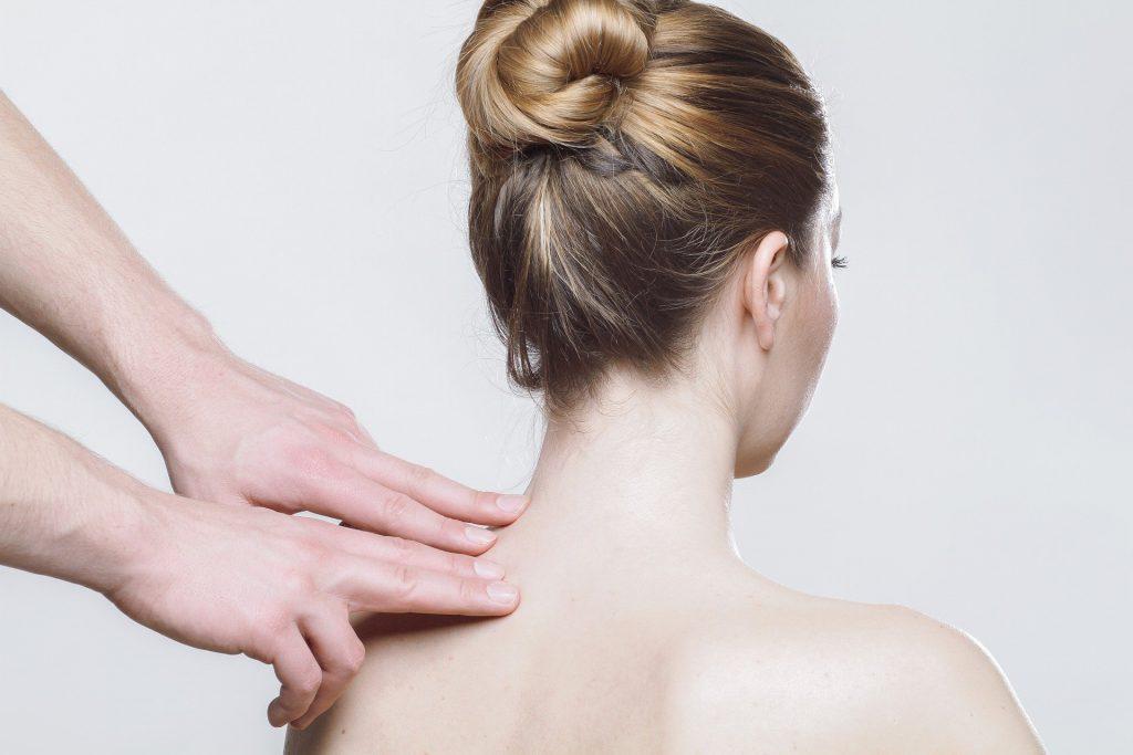 Massagegriffe Rücken